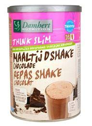Damhert Think Slim Maaltijdshake Chocolade 512g