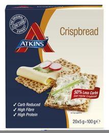 Atkins Crispbread 20x5g