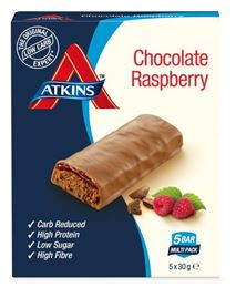 Atkins Chocolate Rasperry Reep 5x30g