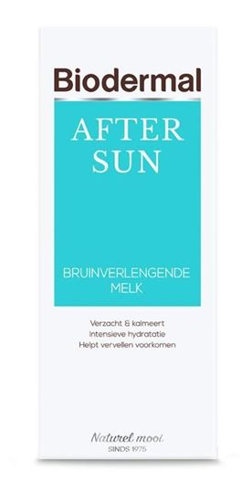Biodermal Aftersun bruinverlengende melk 200ml