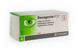 Dexagenta-POS oogdruppels 1/3mg/ml 5ml