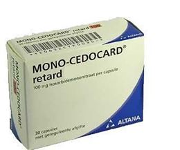 Mono Cedocard Retard 50mg 30caps