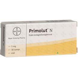 Bayer Primolut N 5mg