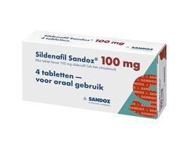 Sandoz Sildenafil 100mg 4tb