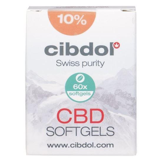 Cibdol 10% CBD softgels 60caps