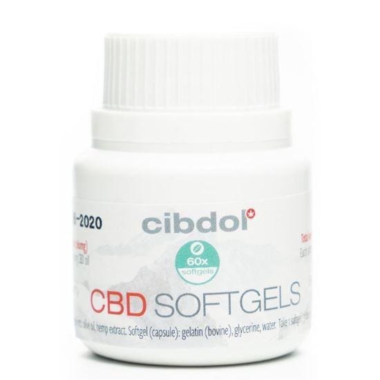 Cibdol 4% CBD softgels 60caps