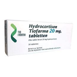 Hydrocortison Tiofarma 20mg 30tb
