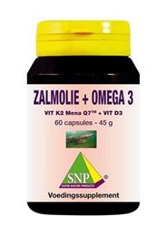 SNP Zalmolie Omega 3 60 capsules