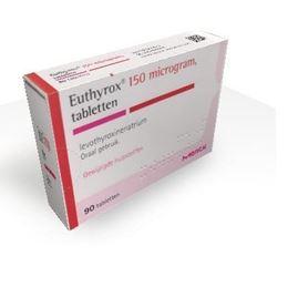 Afbeeldingen van Euthyrox 0,150mg 90tb