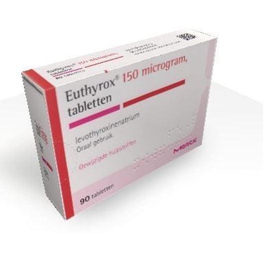 Afbeelding van Euthyrox 0,150mg 90tb