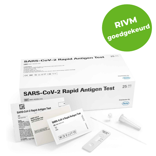Roche Covid-19 sneltest (antigeen) 25st