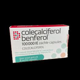 Colecalciferol 100.000IE 3caps