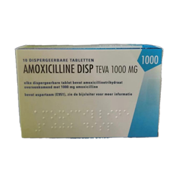 Amoxicilline Sandoz Disper 1000mg 10tb